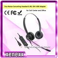Xu 585 duradero de centro de llamadas de ruido- de cancelación de comunicación unificada equiposdeoficina