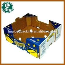 Customized full color printed apple carton box