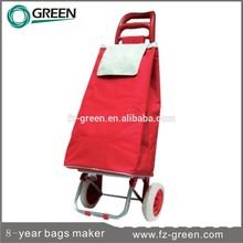 Hot Sale Foldable Vegetable Shopping Trolley Bag