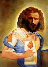 Copies of famous jesus christ painting portrait