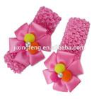 wholesale fashion Handmade flower girl Crochet Headband
