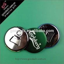 Factory manufacture round magnetic metal bottle opener / beer bottle opener