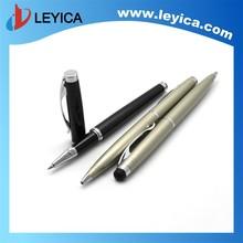 Slim metal ball pen, popular hotel pen,stylus touch pen LY-123