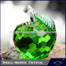 Wholesale Christmas Eve Gift K9 Crystal Apple