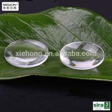 high quality 25mm diameter biconvex lens,double convex lens ,45mm focal length google cardboard lens VR