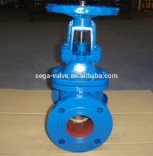 150lb flange gate valve long stem gate valve