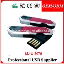colorful metal usb flash memroy , retracted usb drive/metal usb disk/udp module