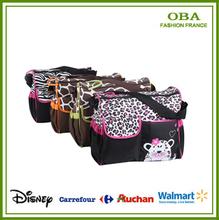 High quality Retail Fashion 2014 Multifunctional Nappy Mummy Bag Maternity Handbag Diaper Bags baby Tote Organizer bag hot sale