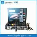 Samsat récepteur satellite numérique jynxobx v6 jb200 avec antenne wifi pour l'amérique du nord