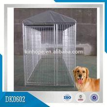 Steel Large Dog Kennel Outside