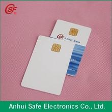 Personalized design data saving inkjet pvc chip card