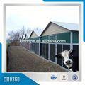 leche y productos lácteos granja de estructura de acero cubierto para la leche de vaca para el mercado europeo