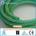 Manguera de pvc reforzado, flexible tubo de material de pvc