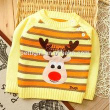 Venta al por mayor nueva caída de la moda de los niños y las niñas suéter de punto suétersinfantil ropa de niños sw41112-5