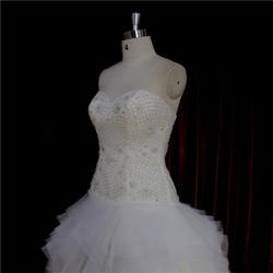 Popular slim sheath maternity wedding dress bridal gown