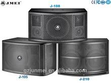 Portable pro pa speaker karaoke audio mixer
