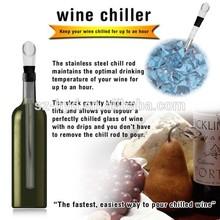 Sus 304#stainless steel wine cooler/plastic wine cooler