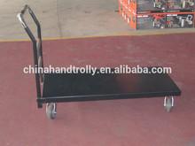 hand push trolley tool truck industrial heavy duty flat platform cart