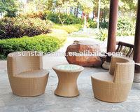 Garden furniture Aluminium Wicker Vast Set L80403-4