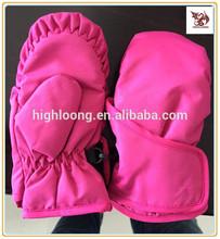 Infants Child Kids Girls Boys Ski Winter Snow Velcro Mittens Gloves