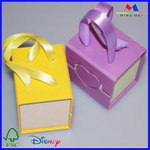High quality cheap paper pandora jewelry box, cheap pandora bracelet box