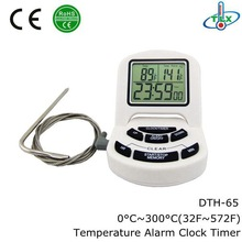 Digital Cooking Food Meat Probe Thermometer Timer,Temperature Alarm Liquid,Digital Cooking Food Meat Probe Thermometer