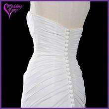 Professional OEM Factory Custom Design guangzhou newest elegant short 2011 new model wedding dress