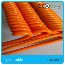 PVC material LED aux coiled wire