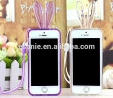 New Design Rabbit TPU Bumper case for Samsung S5