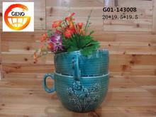 Modern flowr vase to decor the desk