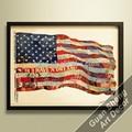 Bandeira americana foto para imprimir/diretamente da fábrica de pintura em tela/moderna abstrata lona de arte da parede