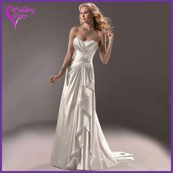 Promotional Prices!!! OEM Factory Custom Design wedding dress detachable tail