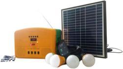 KINO- 300A Solar Kit With Bulbs,Mobile Charger