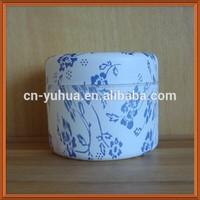 PJ1037 Yuyao Yuhui Commodity best sell good PP non spill 200ml wood grain cosmetic jar