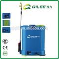 4 galão jardim uso azul agricultura tanque do pulverizador costal elétrica com 3 bicos