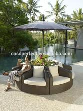 garden furniture outdoor wicker rattan helmet chair