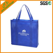 Cheap recycle custom printed non woven shopping bag