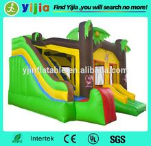 7ft jumpling inflatable bouncer slide for kids