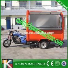 New type gasoline mobile food van