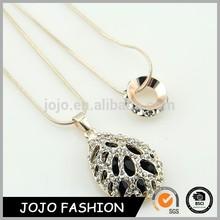2015 cheap fashion America style jewelry water drop crystal angel pendant