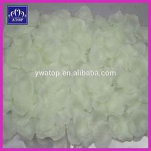 Ivory Imitation Rose Flower Petals Wedding Table Confetti