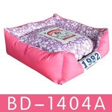 wholesale fleece pink indoor large dog kennel