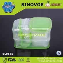 17 PCS set plastic vacuum food box/food storage container