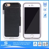 Dual Hybrid Skin leather back cover for iphone 6 5