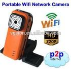 HD Sports DVR Wireless portable action ip Camera/mini dv