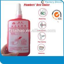 Zero Leakage Anaerobic liquid thread sealant for metal pipes