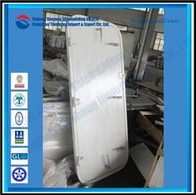 Aluminium watertight ship door