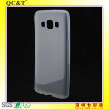 Popular Design Clear Inner scrub TPU phone case manufacturer for Samsung A3 A3000