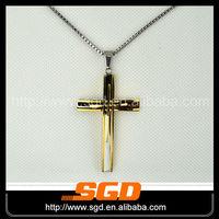 Cross new style custom metal pendant