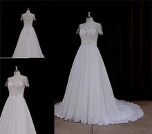 Instock charming woman maxi wedding dress